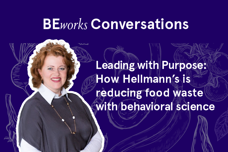 BEworks Conversations with Christina Bauer-Plank: How Hellmann's is reducing food waste with behavioral science